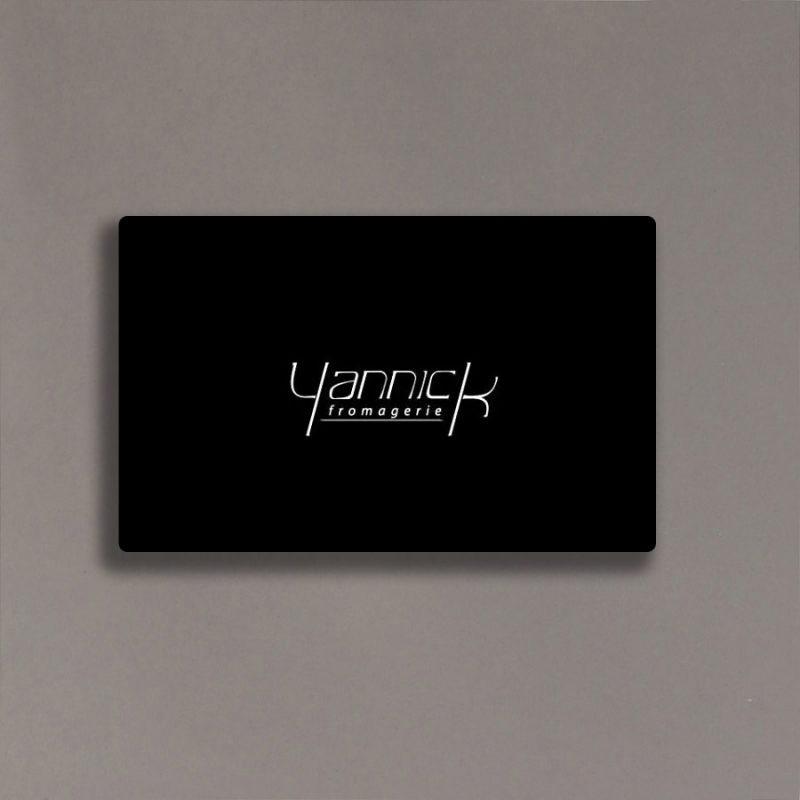 Certificat cadeau Yannick