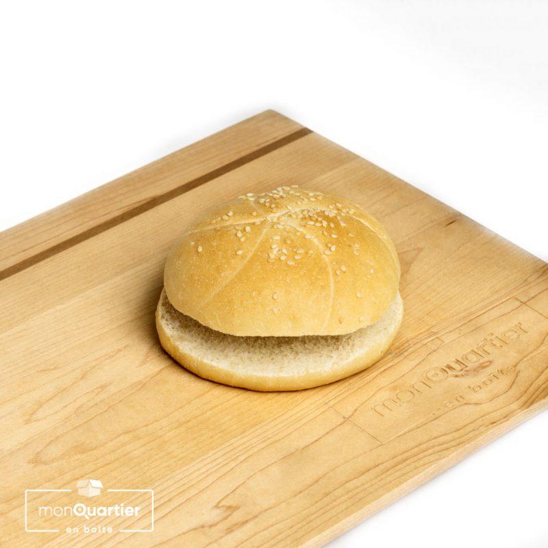 Pains Kaiser sésame pour hamburger