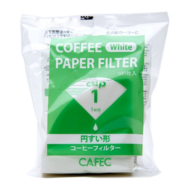 Filtre papier blanc traditionnel CAFEC