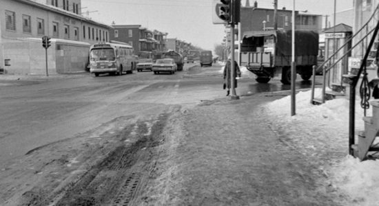 Limoilou dans les années 1960(72): Intersection chemin de la Canardière et 4e Avenue - Jean Cazes