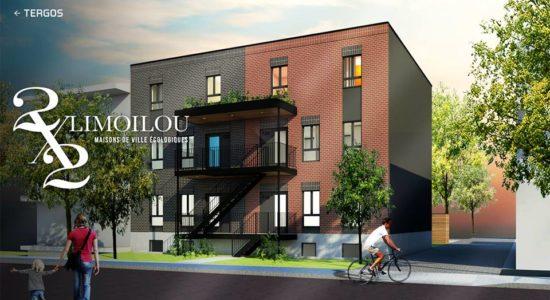Deux par deux: évolution du projet de maisons de ville de la 10e Rue - Jean Cazes