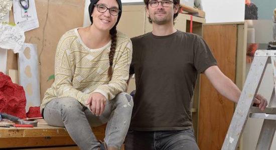 Une oeuvre d'art public signée Pierre&Marie pour La Cité-Limoilou - Viviane Asselin
