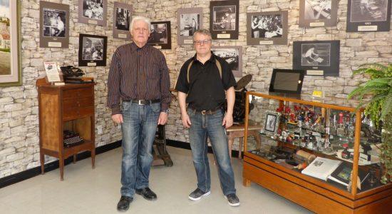 Denis et Yvon Pelletier. Mars 2017.