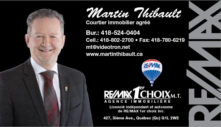 Martin Thibault, courtier Remax Premier Choix