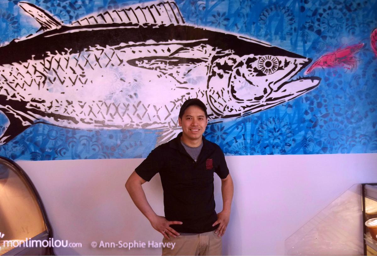 La boucherie Croc Mignon ouvre son comptoir poissonnerie | 16 mai 2017 | Article par Ann-Sophie Harvey