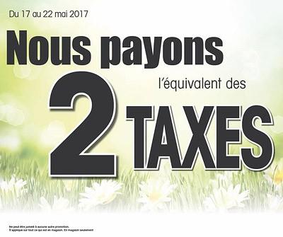 2 taxes payées | Juneau