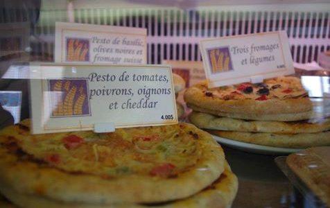 4 variétés de pizza | Fournée Bio (La)