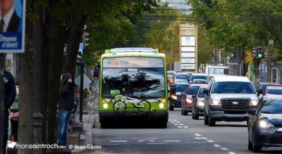 Une oeuvre d'art sur un autobus du RTC - Céline Fabriès