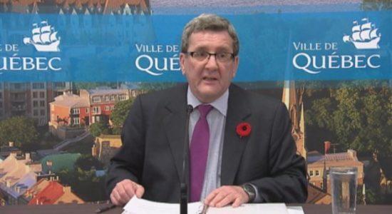 La Ville de Québec gèle les taxes résidentielles pour les deux prochaines années - Céline Fabriès
