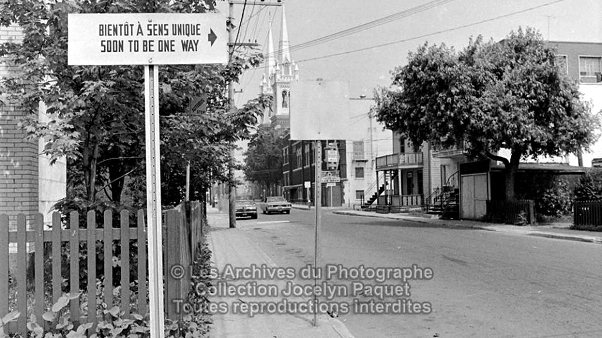 Limoilou dans les années 1960 (79) : «&nbsp;Sens unique &#8211; <em>One way</em>&nbsp;» | 9 juillet 2017 | Article par Jean Cazes