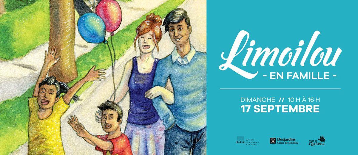 Limoilou en famille : une première édition qui promet une grande diversité   8 septembre 2017   Article par Monlimoilou