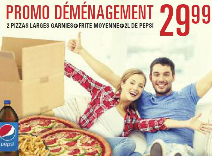 Promo déménagement | Pizza Salvatore