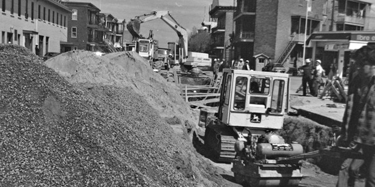 Limoilou dans les années 1970 (25) : réfection de la 4e Avenue | 10 septembre 2017 | Article par Jean Cazes