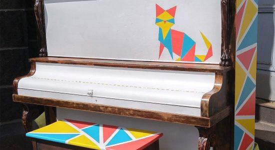 Piano public du Vieux-Limoilou