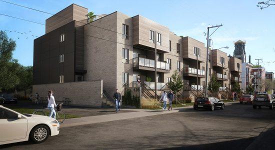 Loggia : 32 nouveaux grands logements dans le Vieux-Limoilou - Jean Cazes