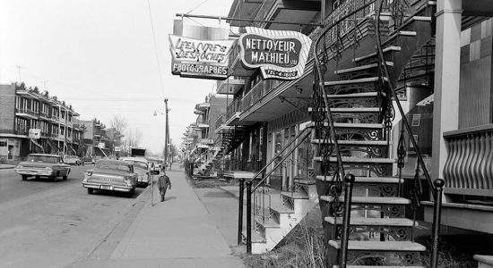 Limoilou dans les années 1960 (84) : Lefaivre & Desroches sur la 3e Avenue - Jean Cazes