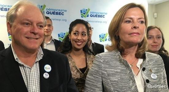 Redonner le pouvoir aux citoyens pour Démocratie Québec - Céline Fabriès