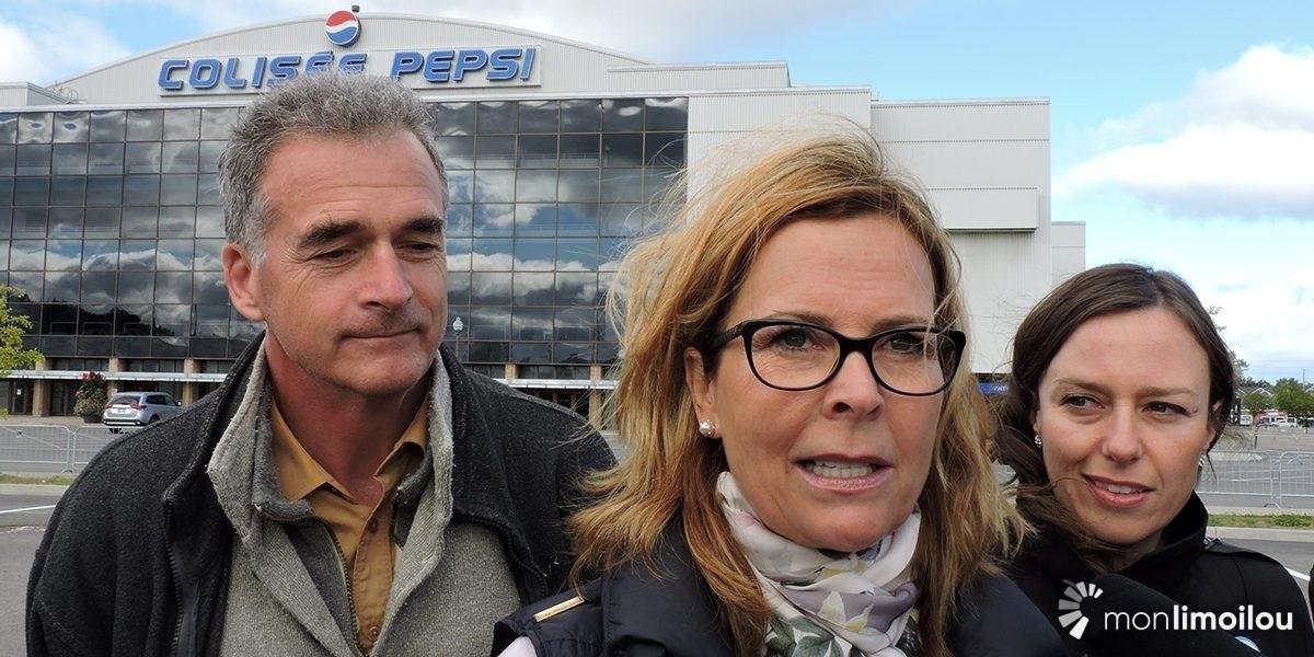 Anne Guérette prête à céder le Colisée Pepsi pour 1 $ | 28 septembre 2017 | Article par Céline Fabriès