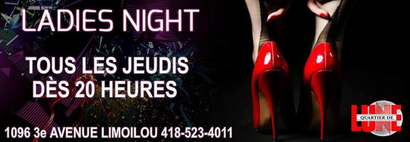 Les Jeudis Ladies Night au Quartier de Lune | Quartier de lune 2.0