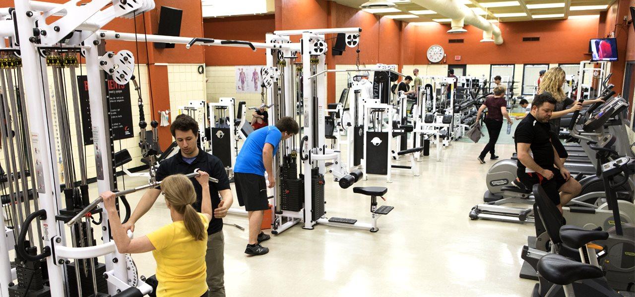Conditionnement physique au Cégep | Complexe sportif du Cégep Limoilou