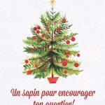 Un sapin pour encourager ton quartier - Limoilou en Vrac