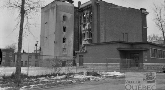 Limoilou dans les années 1960 (29) : incendie à l'école Saint-Zéphirin de Stadacona - Jean Cazes