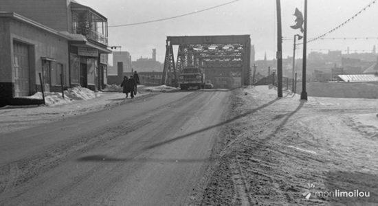 Limoilou dans les années 1960 (85) : le pont de fer Dorchester - Jean Cazes