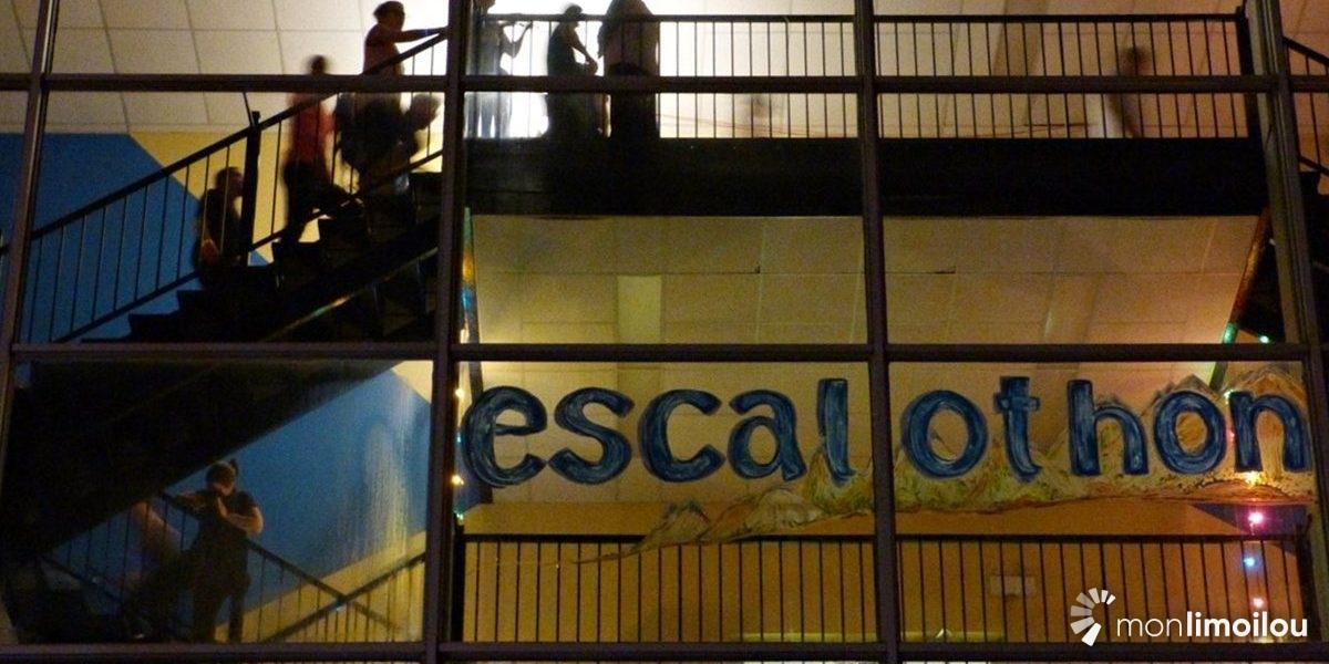 L'Escalothon : une expérience sportive et communautaire   13 novembre 2017   Article par Joanie Bourassa-Guillemette