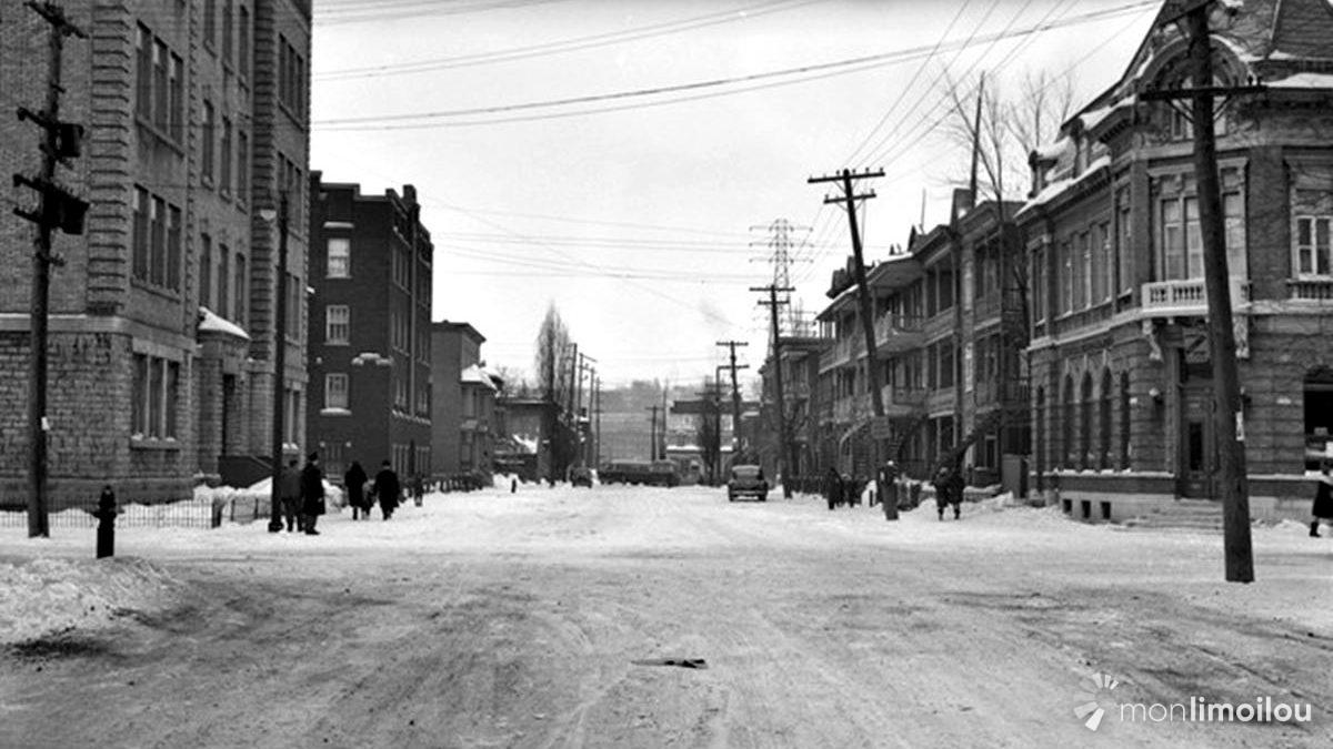 Limoilou dans les années 1940 (29) : la 4e Avenue   14 janvier 2018   Article par Jean Cazes