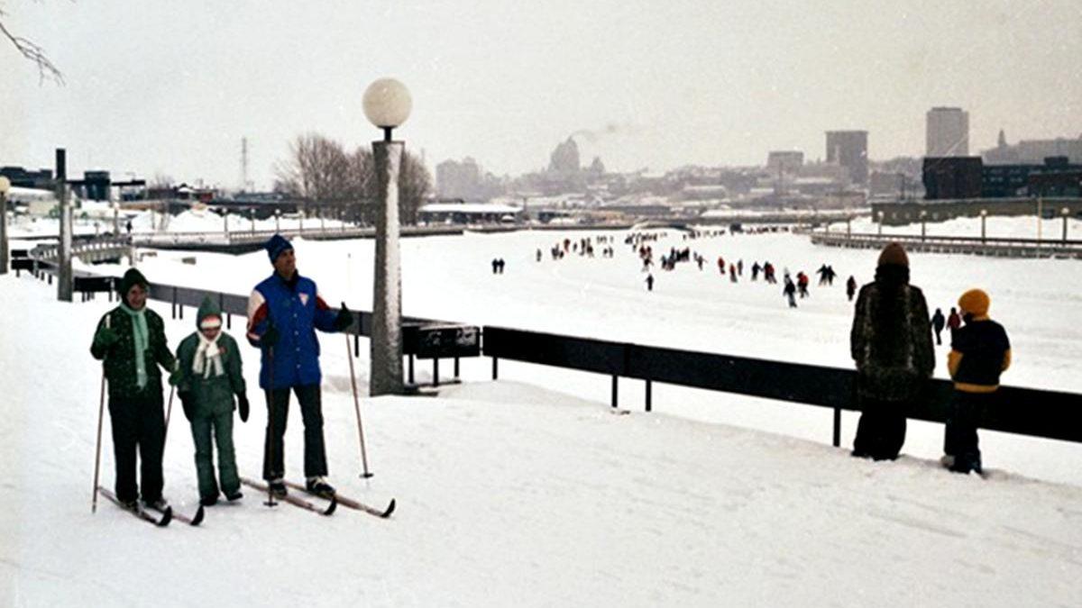 Limoilou dans les années 1970 (27) : sports d'hiver sur la rivière Saint-Charles | 18 février 2018 | Article par Jean Cazes