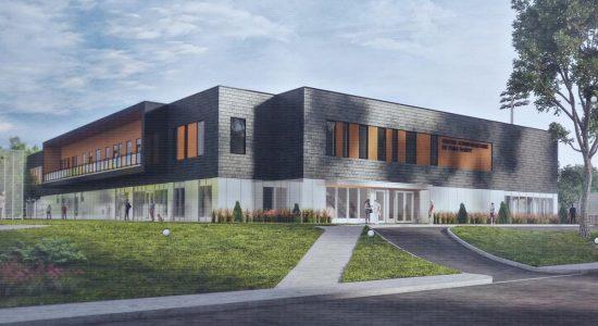 Déménagement du centre Mgr-Marcoux : construction en cours de la nouvelle bâtisse - Jean Cazes