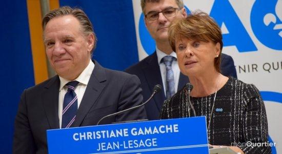 Coalition Avenir Québec:  Christiane Gamache briguera Jean-Lesage - Viviane Asselin