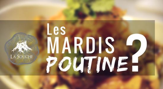 Mardis poutine mystère | Brasserie artisanale La Souche