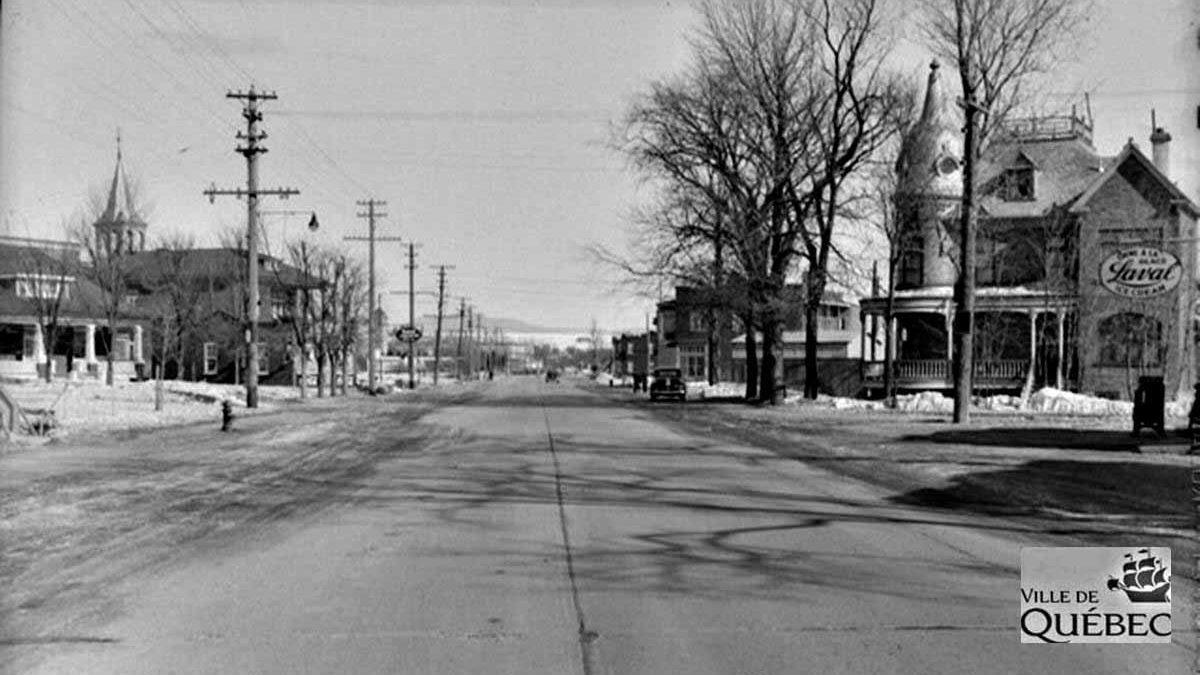Limoilou dans les années 1940 (30) : le chemin de la Canardière | 25 février 2018 | Article par Jean Cazes