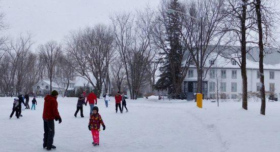 Location gratuite de patins au Domaine Maizerets | Société du Domaine Maizerets