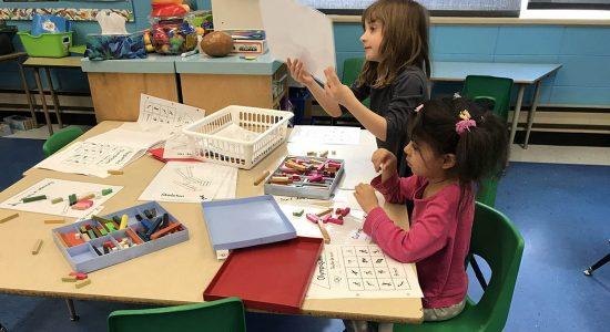 Des experts recommandent fortement la maternelle 4 ans - Céline Fabriès
