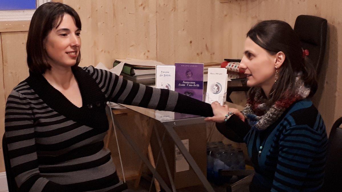 Virginie Daries, traductrice de bébé et praticienne de l'hypnose périnatale | 20 février 2018 | Article par Joanie Bourassa-Guillemette