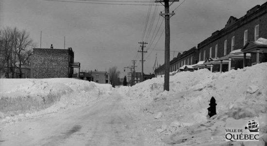 Limoilou dans les années 1940 (31) : la traditionnelle tempête de la Saint-Patrick - Jean Cazes