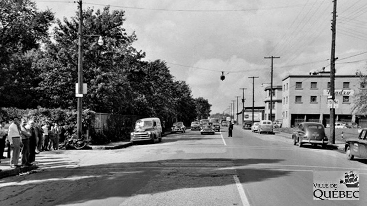 Limoilou dans les années 1950 (47) : scène d'accident sur le boulevard des Capucins | 7 juin 2020 | Article par Jean Cazes