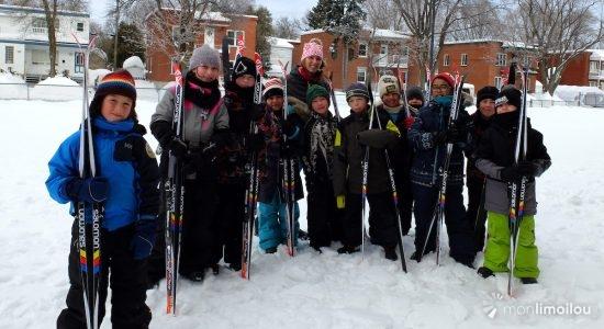 Les élèves s'activent à Saint-Albert-le-Grand et Sainte-Odile - Valérie Marcon