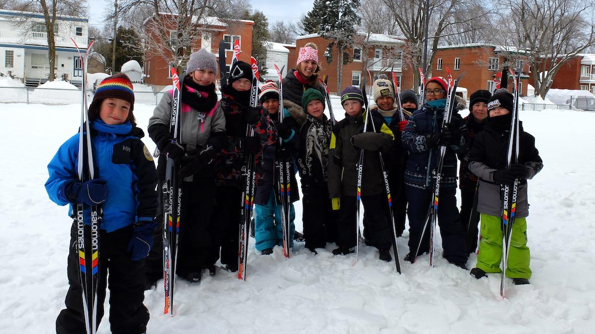 Les élèves s'activent à Saint-Albert-le-Grand et Sainte-Odile | 19 mars 2018 | Article par Valérie Marcon