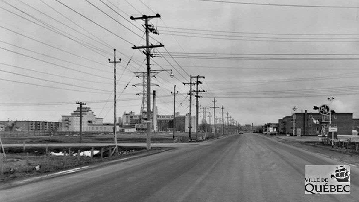 Limoilou dans les années 1960 (91) : le boulevard Henri-Bourassa avant son élargissement | 14 avril 2018 | Article par Jean Cazes