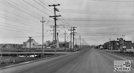 Limoilou dans les années 1960 (91) : le boulevard Henri-Bourassa avant son élargissement - Jean Cazes