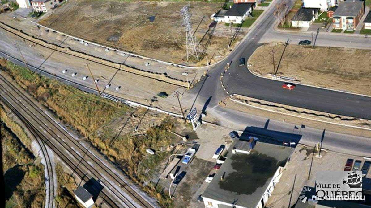 L'élargisssement d'Henri-Bourassa au niveau de la 26e Rue. Octobre 1971.