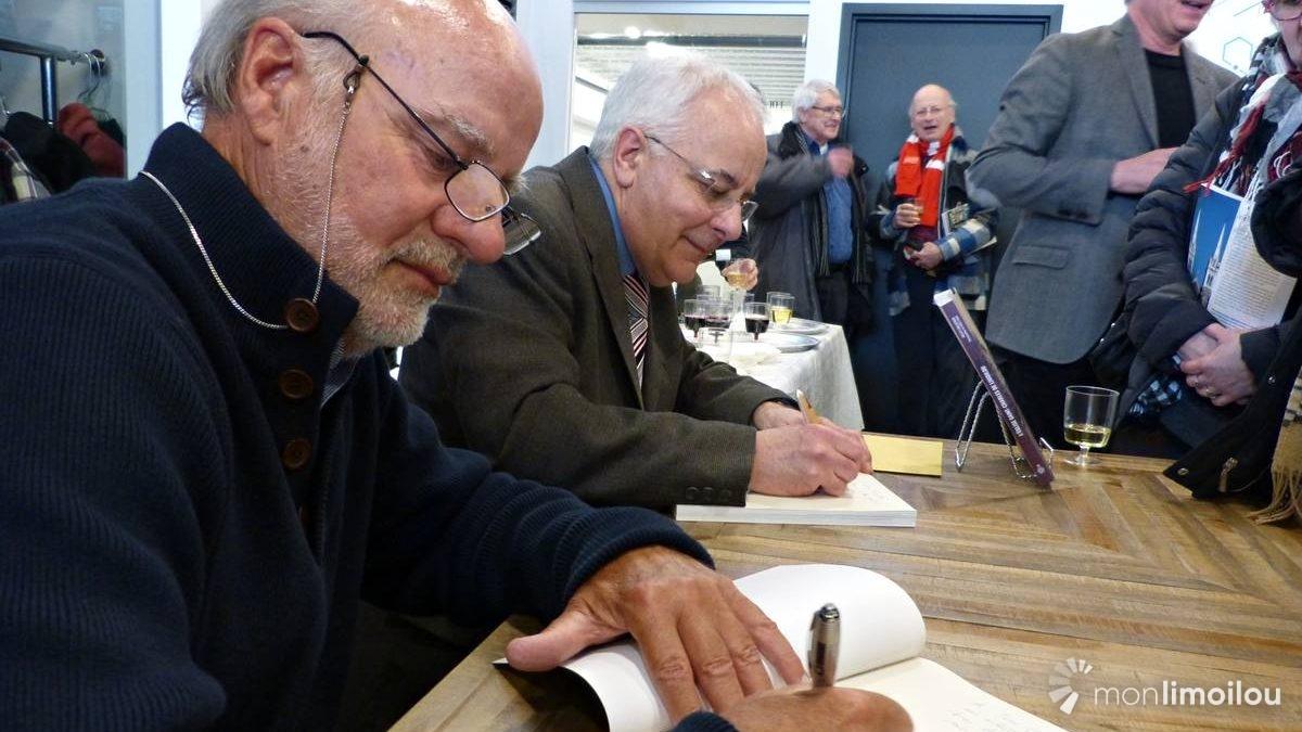 Les auteurs Marc Lajoie et Gilles Gallichan