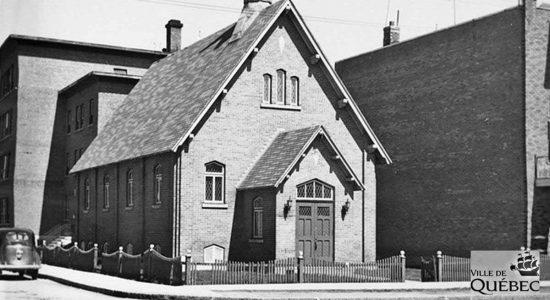 Limoilou dans les années 1940 (33) : église baptiste de la 3e Avenue - Jean Cazes