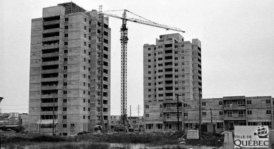 Limoilou dans les années 1970 (29) : les tours qui ont changé le visage de Maizerets - Jean Cazes
