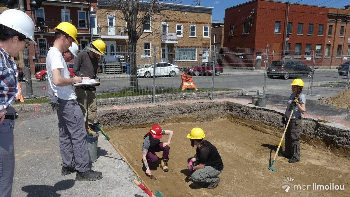 Reprise des fouilles archéologiques sur le site Anderson | 17 mai 2018 | Article par Jean Cazes