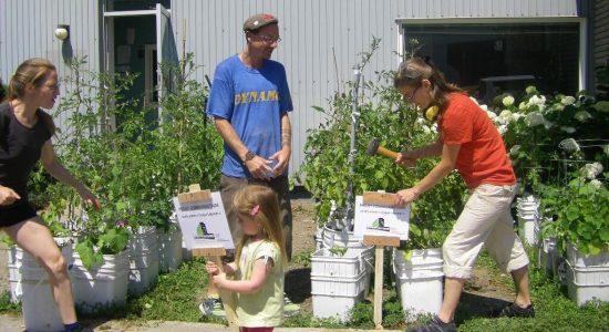 Craque-Bitume et son jardin collectif déménagent dans Lairet - Viviane Asselin