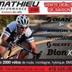 Vente début de saison de vélo - Mathieu Performance
